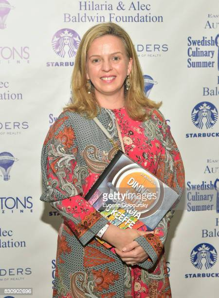 Robyn Lea attends Authors Night 2017 At The East Hampton Library at The East Hampton Library on August 12 2017 in East Hampton New York