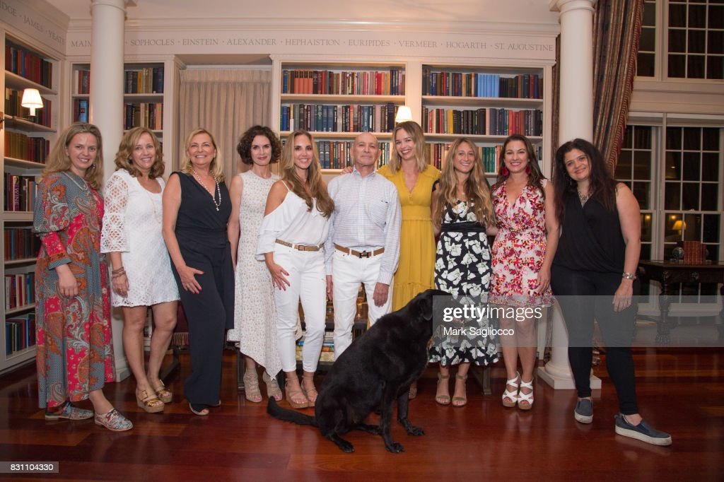 Hamptons Magazine Hosts a Private Dinner Celebrating East Hampton Library Authors Night : News Photo