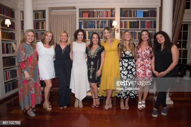 Robyn Lea Laurie Gelman Debra Halpert Elizabeth Vargas Samantha Yanks Marisa Hermer Jessica Siskin Annie Falk and Alex Guarnaschelli attend Hamptons...