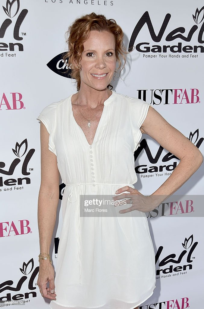 Robyn Lively arrives at the 10 Year Anniversary with Beauty for a Cause Summer Toy Drive at Nail Garden on July 26, 2016 in Studio City, California.