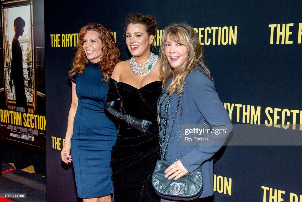 """The Rhythm Section"" New York Screening : News Photo"