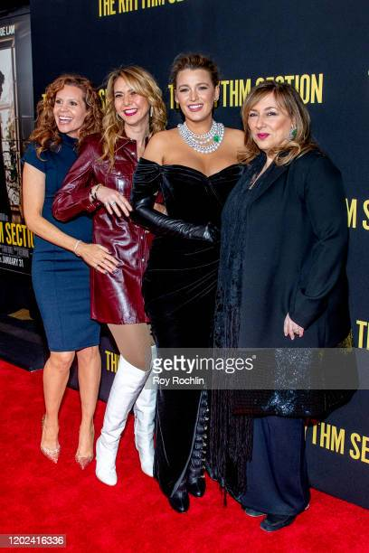 "Robyn Lively, Ofira Sandberg, Blake Lively, and Lorraine Schwartz attend ""The Rhythm Section"" New York Screening at Brooklyn Academy of Music on..."