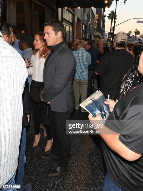 Robyn Livelym and Bart Johnson are seen on May 02 2017 in Los Angeles California