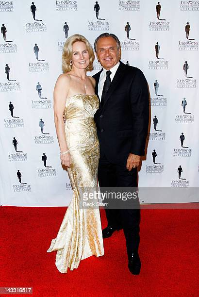 Robyn Meyerhoff and Dr Andrew Ordon arrive at John Wayne Cancer Institute's 27th Annual Odyssey Ball at The Beverly Hilton Hotel on April 21 2012 in...