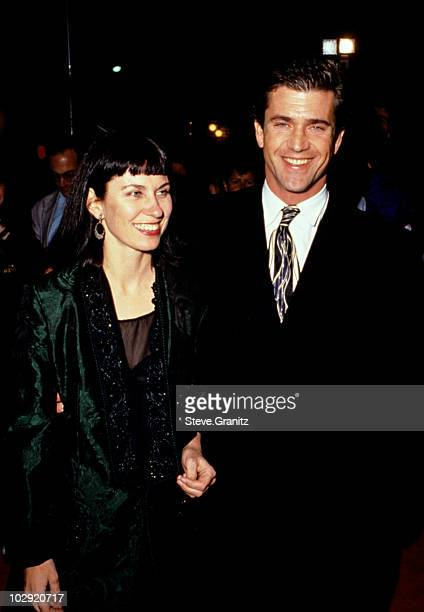 Robyn Moore and Mel Gibson