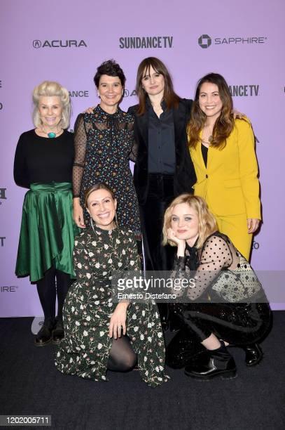 Robyn Nevin Anna Mcleish Emily Mortimer Director Natalie Erika James Angela RussoOtstot and Bella Heathcote attend the 2020 Sundance Film Festival...