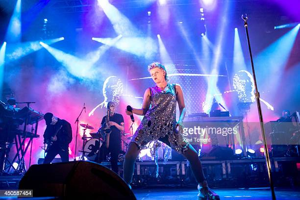 Robyn of Royksopp and Robyn performs on stage during the second day of Sonar Festival on June 13 2014 in Barcelona Spain