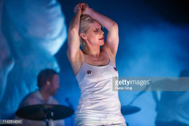 Robyn performs onstage at Alexandra Palace on April 13 2019 in London England