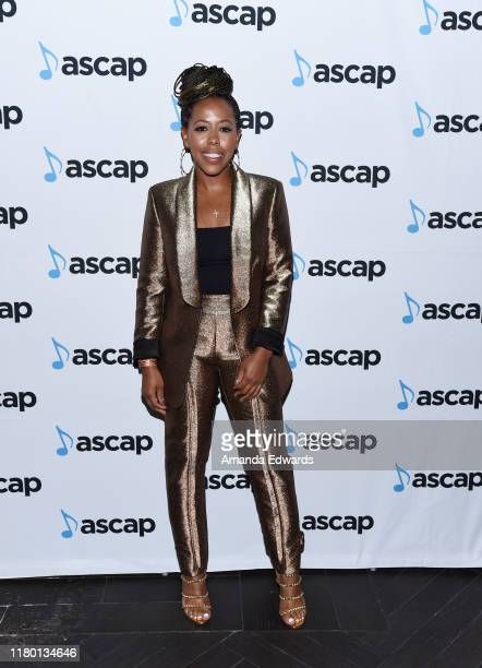 Roc Nation CoPresident Shari Bryant arrives at the 11th Annual ASCAP Women Behind the Music Event on October 09 2019 in Los Angeles California