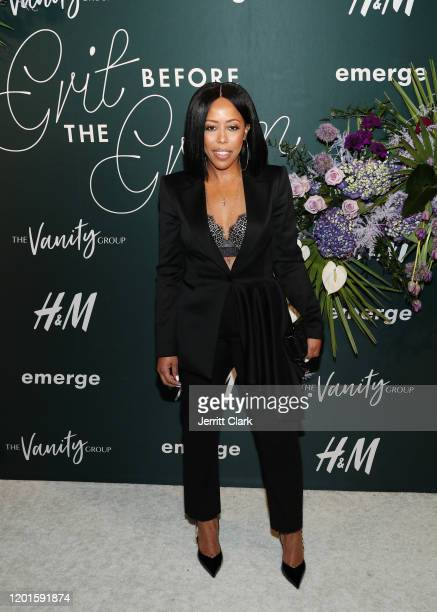Roc Nation CoPresident Shari Bryant attends Grit Before The Gram A Soundtrack To Our Solidarity at The West Hollywood EDITION on January 23 2020 in...
