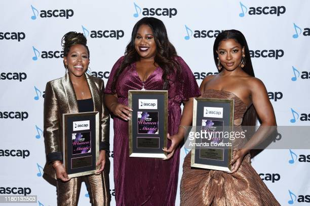 Roc Nation CoPresident Shari Bryant Vice President of Artist Relations Marketing Special Projects for Capitol Music Group Britney Davis and recording...