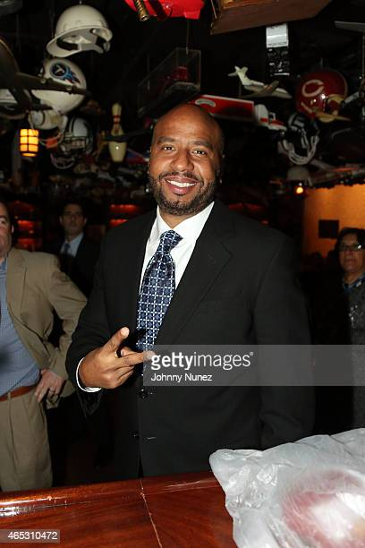 Roc Nation Sports executive 'OG' Juan Perez attends 21 Club on March 5 in New York City