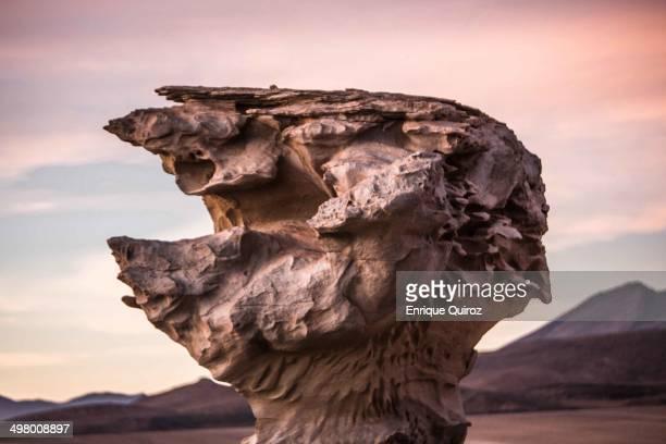 CONTENT] Roca denominada Arbol de Piedra en el Desierto de Siloli