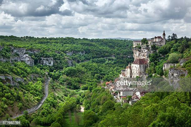 rocamadour - aquitaine stock photos and pictures