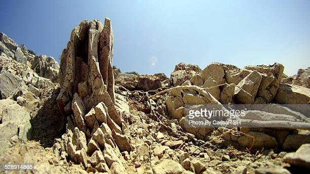 rocas sedimentarias - sedimentary rocks - chert stock photos and pictures
