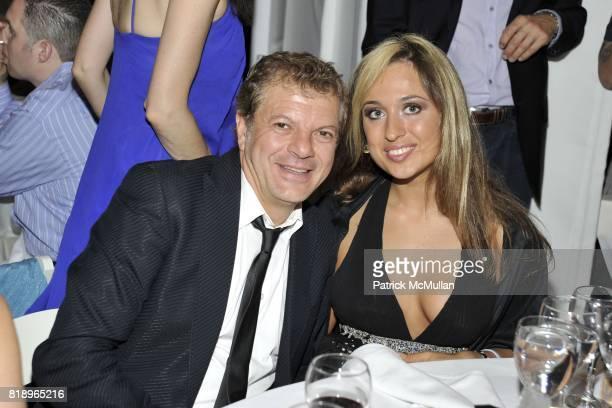 Rocco Ancarola and Olga Zheleznyakova attend MIRACLE HOUSE 20th Anniversary Memorial Day Summer Kickoff Benefit honoring Amy Chanos and Jim Chanos at...