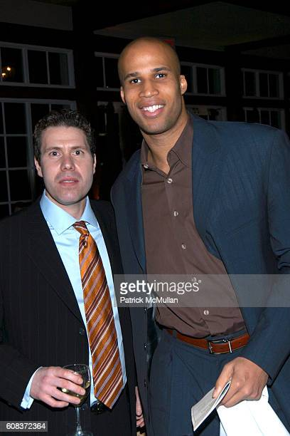 Rocco Basile and Richard Jefferson attend Children of the City 3rd Annual Gala Helps South Brooklyn's Youth Break Free from the Vicious Cycle of...