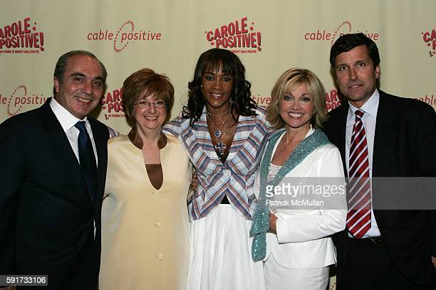 Rocco Commisso Betty Cohen Vivica A Fox Carole Black and Steve Burke attend Carole Positive An Evening to Benefit Cable Positive Honoring Carole...