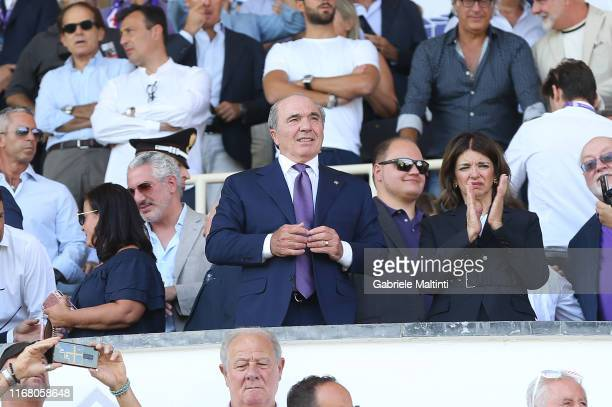 Rocco Commisso president of ACF Fiorentina during the Serie A match between ACF Fiorentina and Juventus at Stadio Artemio Franchi on September 14...