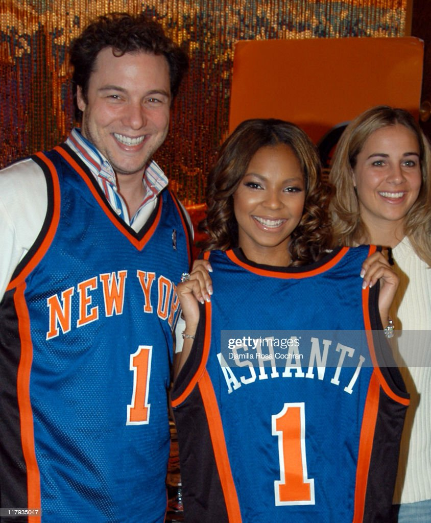 New York Knicks' Read to Achieve Pledge Kick-off with Ashanti and Rocco