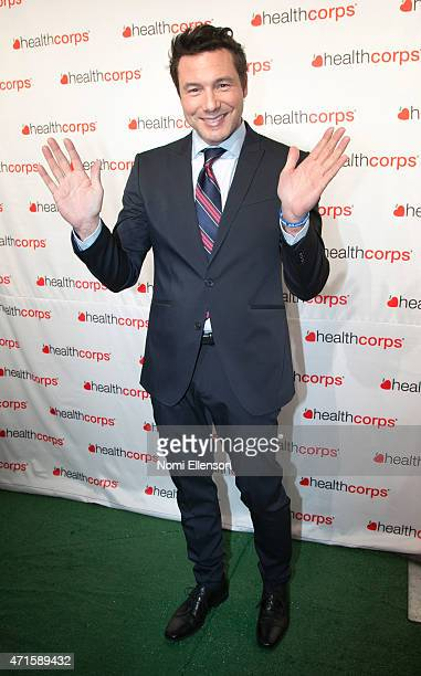 Rocco DiSpirito attends the 9th Annual HealthCorps' Gala at Cipriani Wall Street on April 29 2015 in New York City