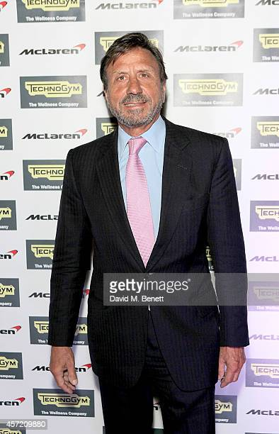 Rocco Forte attends Technogym McLaren Celebrate 10 Years of Partnership at the McLaren Showroom on October 14 2014 in London England