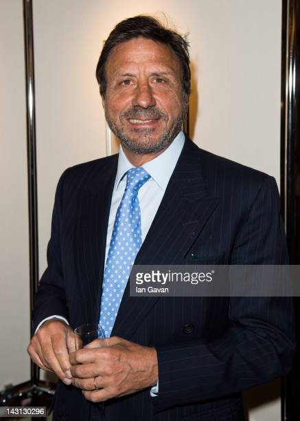 Rocco Forte attends the Royal Portraits Exhibition at The Ritz London on April 19 2012 in London England