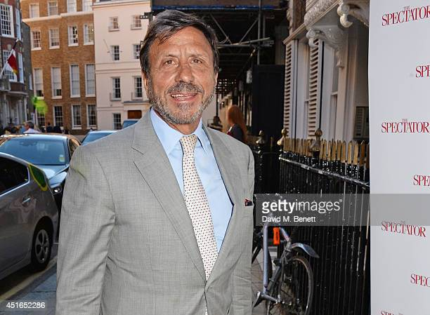 Rocco Forte attends The Spectator Summer Party at Spectator House on July 3 2014 in London England