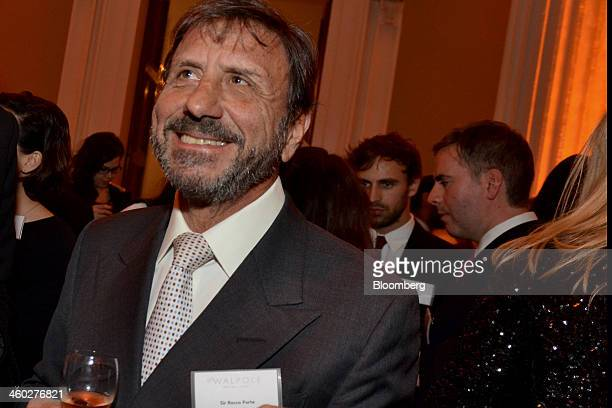 Rocco Forte chairman and chief executive officer of Rocco Forte Hotels attends the Walpole Awards at the Whitehall Banqueting House in London UK on...