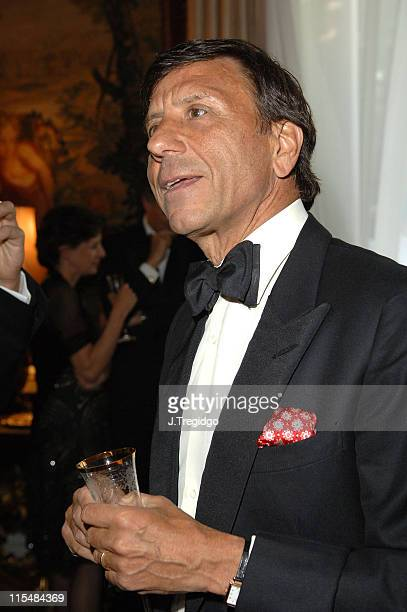 Rocco Forte during Salvatore Ferragamo Dinner Fashion Show Inside at Italian Embassy in London Great Britain