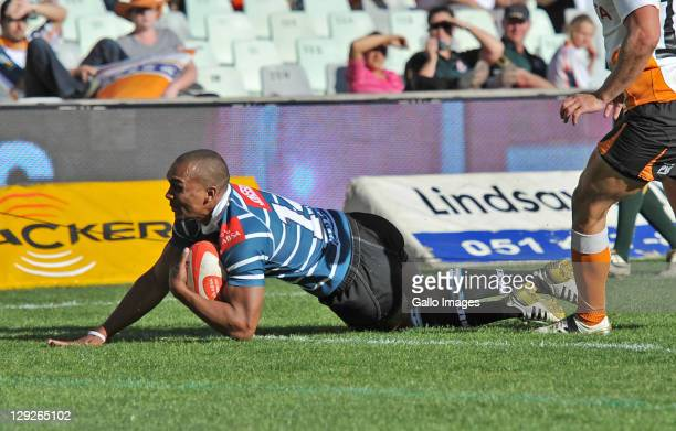 Rocco Jansen of the GWK Griquas during the Absa Currie Cup match between Toyota Free State Cheetahs and GWK Griquas at Free State Stadium on October...