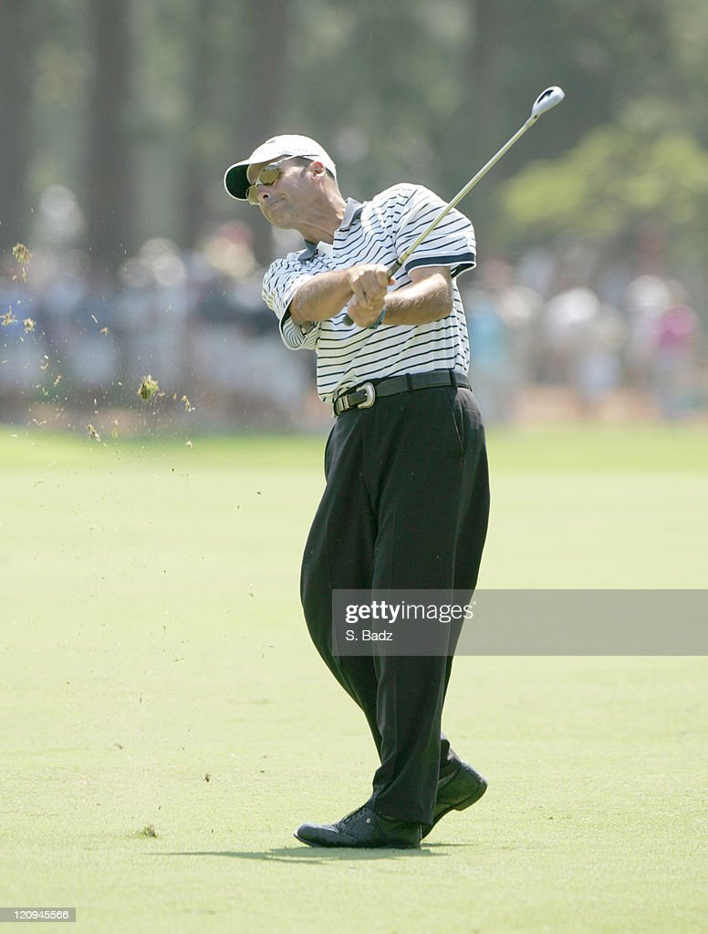 2005 U.S. Open - First Round : News Photo