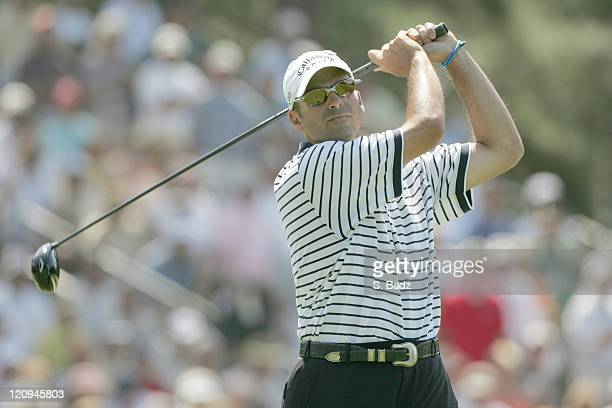 Rocco Mediate during the first round of the 2005 US Open Golf Championship at Pinehurst Resort course 2 in Pinehurst North Carolina on June 16 2005