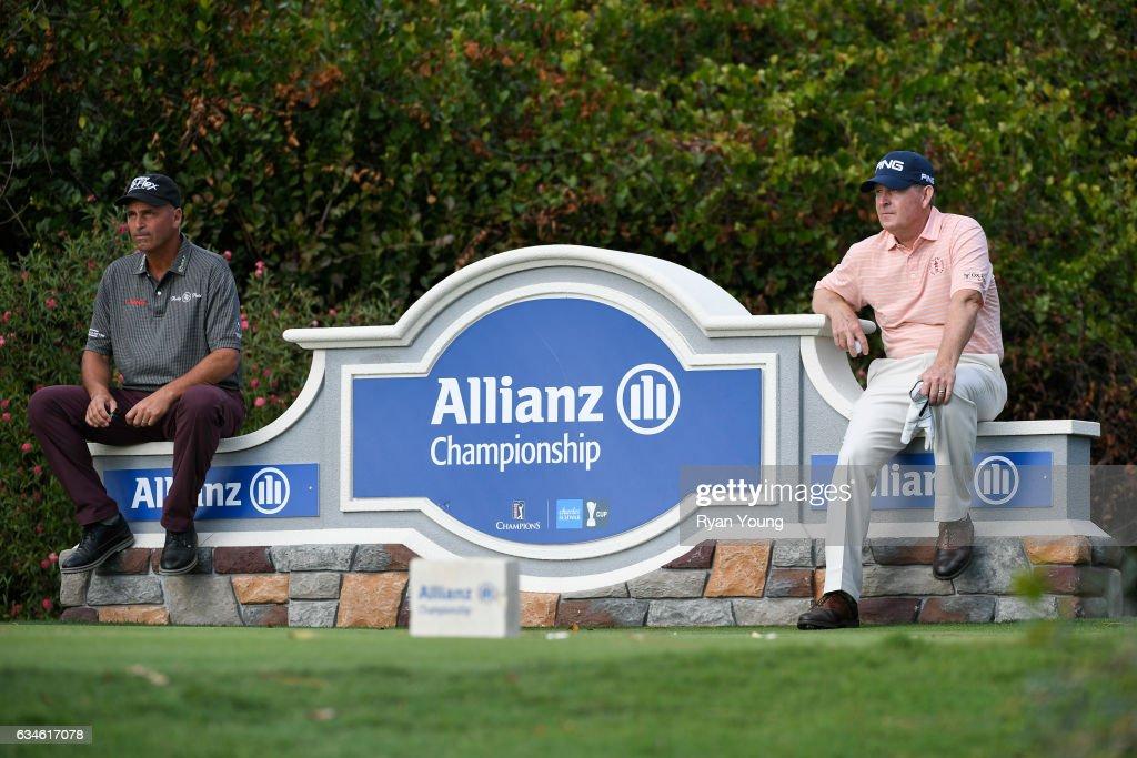 Allianz Championship - Round One : News Photo