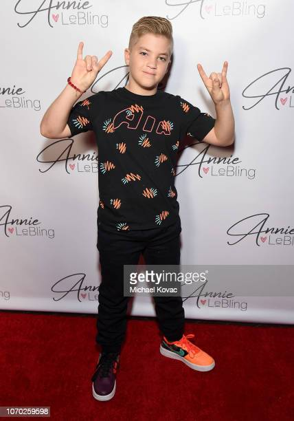 Rocco Piazza attends the Annie LeBling presents Annie LeBlanc Performance Pop Up Shop on December 8 2018 in Los Angeles California