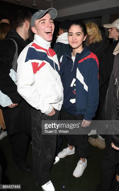 Rocco Ritchie and Kim Turnball attend the Reebok Classic exclusive event celebrating the launch of their new short film with a night of performances...