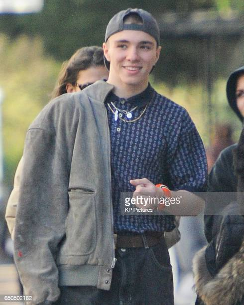 ONLY* Rocco Ritchie and Kim Turnbull seen in Belsize Park on March 9 2017 in London England