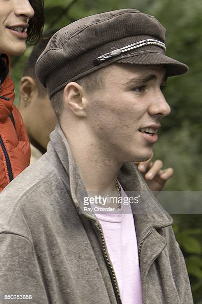 Rocco Ritchie seen at lunch with friends on September 20 2017 in London England