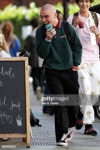 Rocco Ritchie sighting in Belsize Park on September 8 2016 in London England