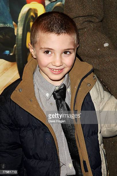 Rocco Ritchie son of singer Madonna and film director Guy Ritchie arrives at the European premiere of 'Fred Claus' at the Empire Cinema Leicester...