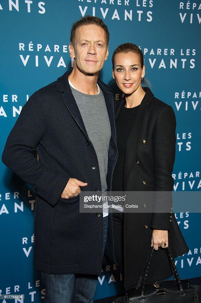 Rocco Siffredi and his wife Rosa Caracciolo attend the