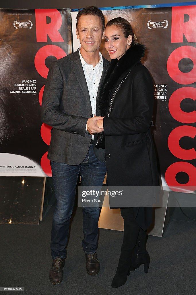 """""""Rocco"""" Paris Premiere At Cine Cite Les Halles In Paris : Fotografía de noticias"""