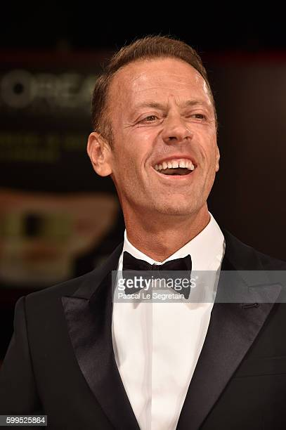 Rocco Siffredi attends the premiere of 'Rocco' during the 73rd Venice Film Festival at Sala Perla on September 5, 2016 in Venice, Italy.