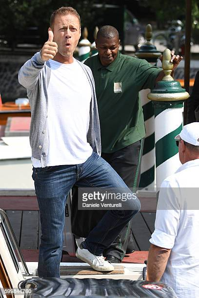Rocco Siffredi is seen during the 73rd Venice Film Festival on September 7 2016 in Venice Italy