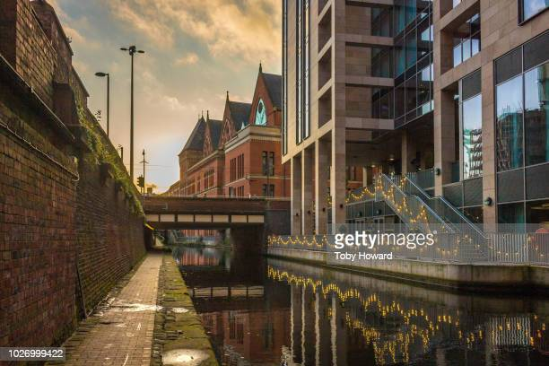 rochdale canal, manchester, uk - greater manchester stock pictures, royalty-free photos & images