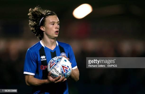 Rochdale's Luke Matheson Rochdale v Ipswich Town - Sky Bet League One - Crown Oil Arena .
