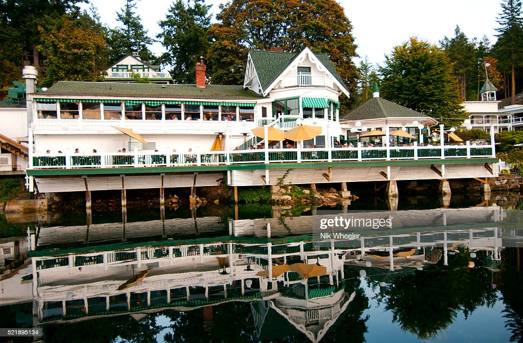 Roche Harbor On San Juan Island In The Islands Of Washington State Usa