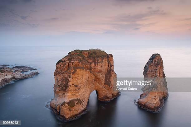 Roche Raouche Rock Beirut Lebanon