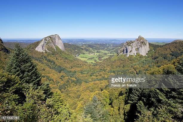 roche Tuiliere and Sanadoire in The Auvergne