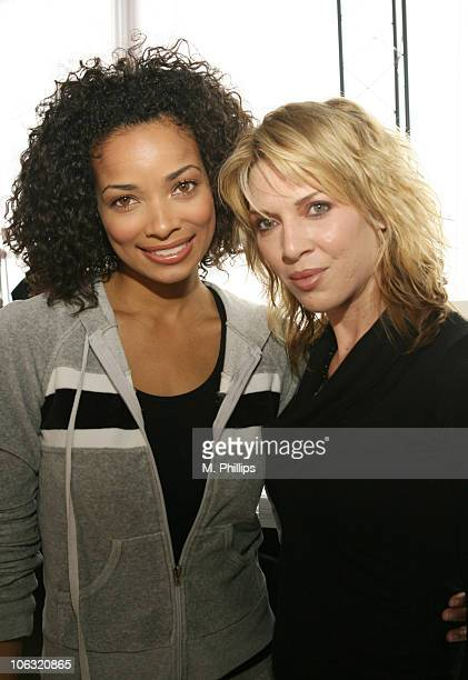Rochelle Aytes and Ashlee PetersenCallahan during Red Carpet '06 Suite Day 4 at Scandia in Hollywood CA United States